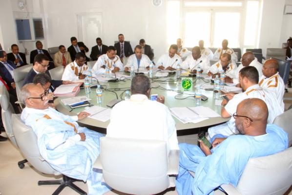 La commission financière de l'Assemblée nationale examine le projet de la loi des finances initiale pour l'année 2018