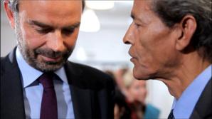 Les Grands Voisins : Mael Aïnine Néma Chérif  rencontre le PM français et Nicolas Hulot