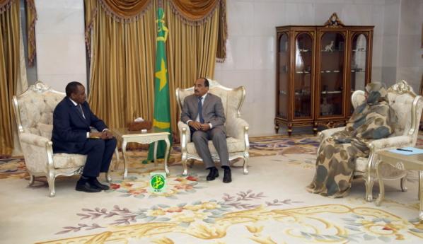 Le Président de la République reçoit le président de l'OADA