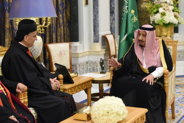 Une première :  le roi Salmane reçoit le patriarche maronite libanais