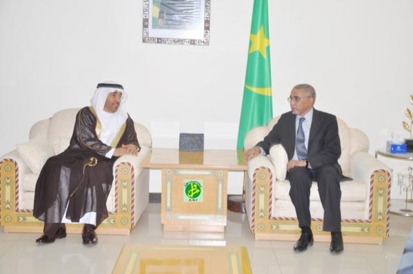 Le Premier ministre reçoit le président de l'Autorité Arabe pour l'Investissement et le Développement Agricole