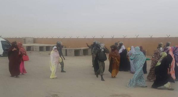 Une manifestation de femmes réclamant la tête de mkheitir dispersée par la police