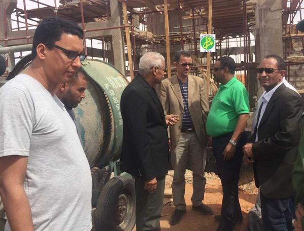 Le ministre de l'hydraulique s'enquiert des chantiers de construction du projet Dhar