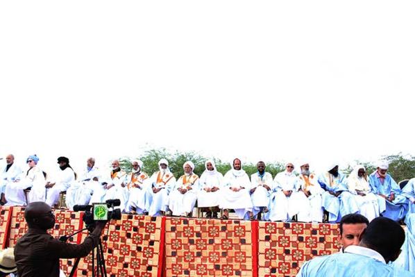 Des associations islamiques organisent un meeting populaire, en soutien au Prophète PSL à Nouakchott