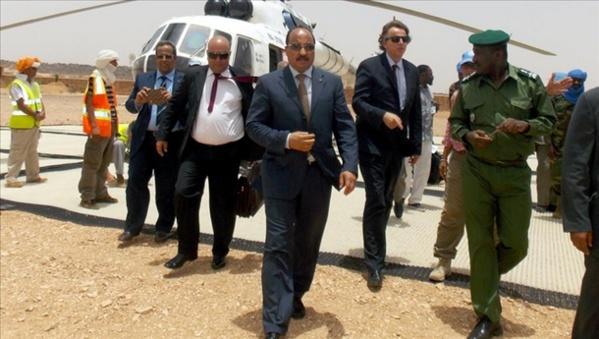 Le Président de la République se rend à Nouadhibou