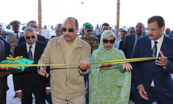 Le Président de la République inaugure le grand complexe commercial de la capitale