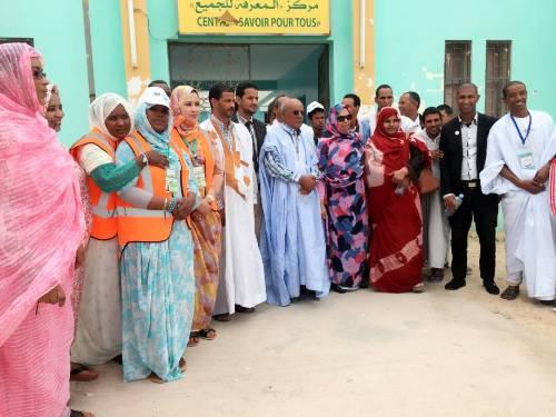 Lancement des activités de l'Association des Animateurs Communautaires à Nouadhibou ( photos )