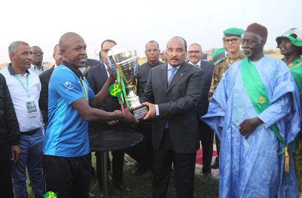 Le Président de la République donne le coup d'envoi à un certain nombre d'activités sportives