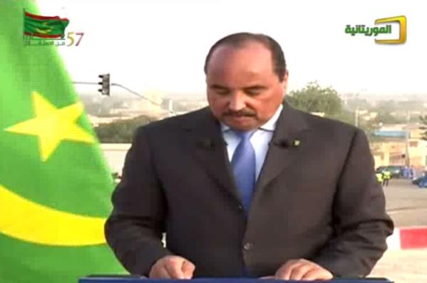 Mauritanie : le drapeau national est amélioré pour symboliser la résistance (Président)