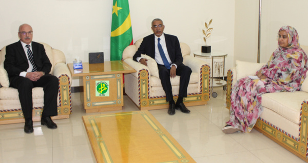 Le Premier ministre reçoit le secrétaire général adjoint du bureau des Nations Unies pour la lutte contre le terrorisme