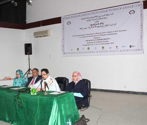 Organisation d'un colloque culturel sur les ''Journées de la maison oualatienne à Nouakchott''