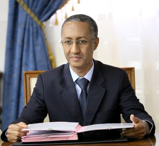 Le ministre délégué chargé du Budget regagne Nouakchott en provenance de la Belgique
