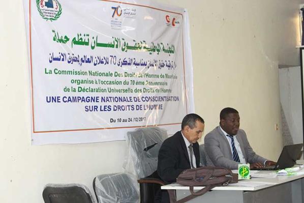 Rencontre sur les lois internationales et nationales relative à la protection et à la promotion des droits de l'homme