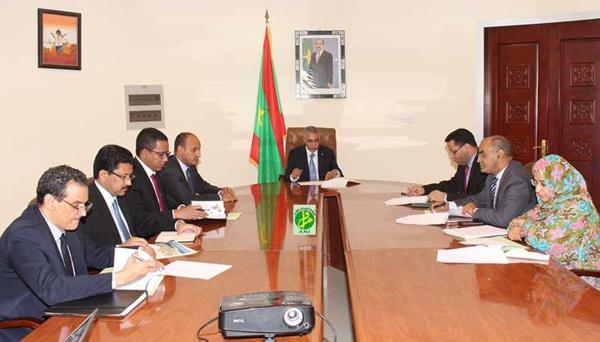 Le Premier ministre préside la deuxième réunion du comité ministériel chargé du suivi du projet du port en eaux profondes à Nouadhibou
