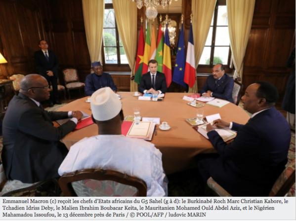 Sommet à Paris pour muscler la force du G5 Sahel