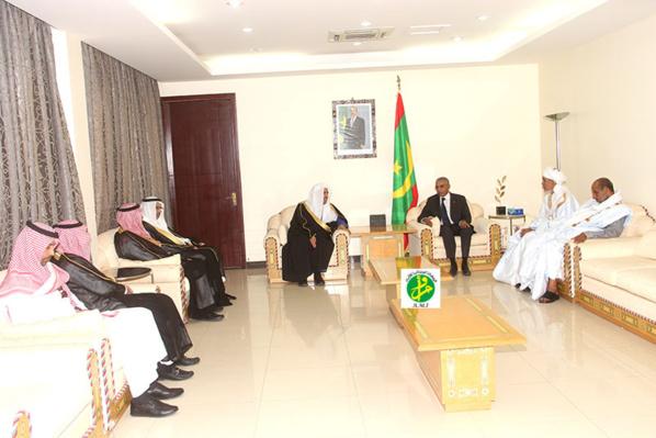 Le Premier ministre reçoit le secrétaire général de la Ligue islamique mondiale
