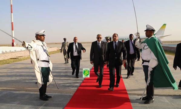 Le Président de la République regagne Nouakchott en provenance de France