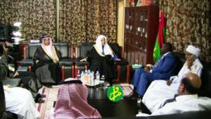 Le président de l'Assemblée Nationale reçoit le secrétaire général de la ligue mondiale islamique