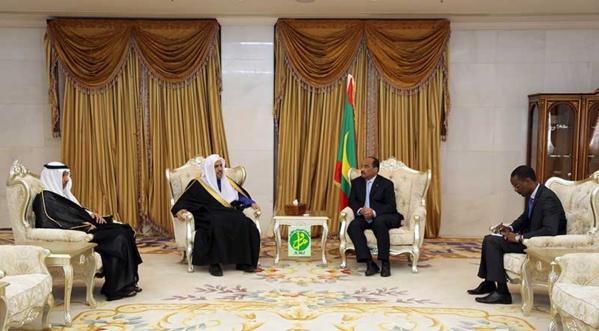 Le Président de la République reçoit le secrétaire général de la Ligue islamique mondiale