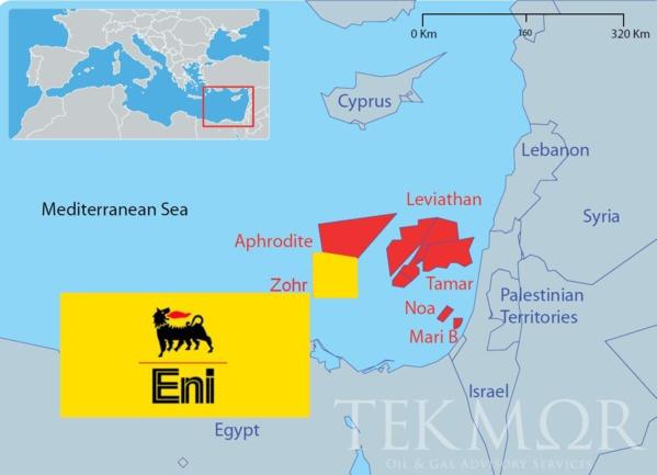 Egypte: la production a commencé au champ gazier de Zohr