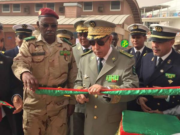 Le Chef d'état-major général des Armées supervise à Nouadhibou l'inauguration d'infrastructures de formation relevant de l'académie navale