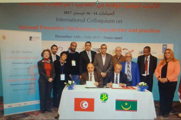 Signature d'un protocole d'accord entre le mécanisme national de prévention de la torture et son homologue tunisien