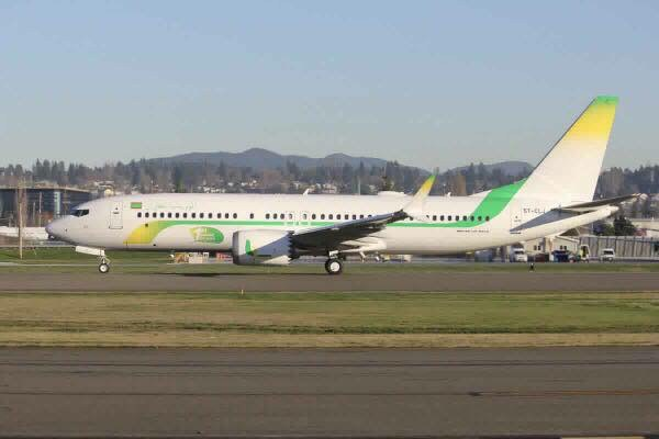 Mauritania Airlines reçoit le premier 737 MAX africain