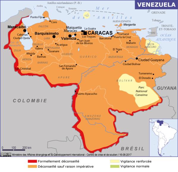 Le Venezuela expulse l'ambassadeur du Brésil et le représentant du Canada