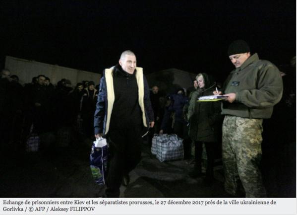 Echange massif de prisonniers entre Kiev et les séparatistes prorusses