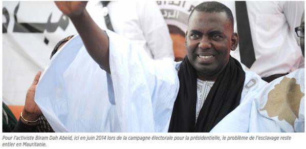 Mauritanie - Biram Dah Abeid : « La loi fondamentale sacralise un code négrier »