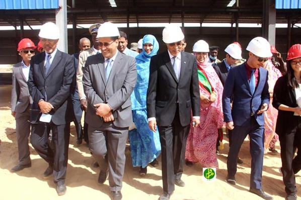Le Premier ministre visite la Société sino-mauritanienne Top-SITAFER