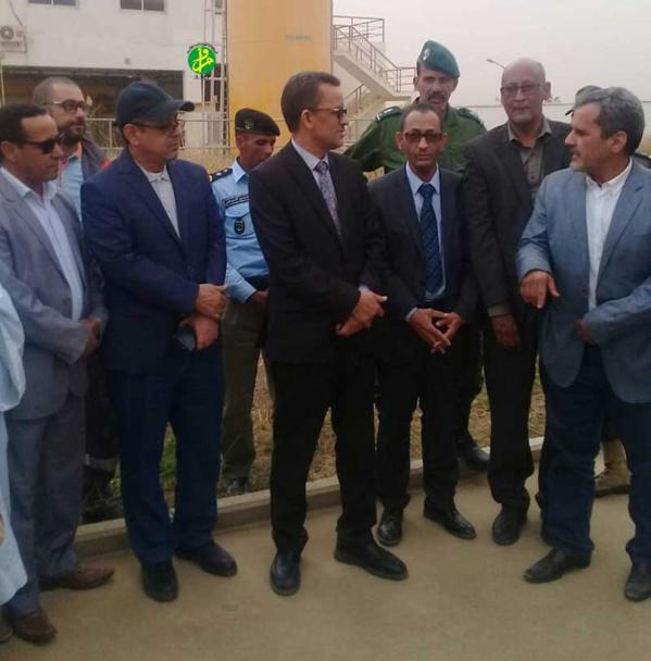 Le ministre de l'assainissement s'enquiert d'ouvrages hydrauliques à Idini