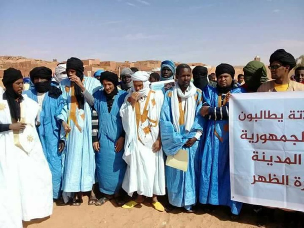Manifestation : les habitants de Oualata se sentent exclus et marginalisés
