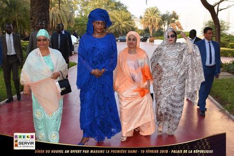 La Première Dame de la Mauritanie à Dakar