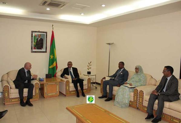 Le Premier ministre reçoit le président de la FIFA
