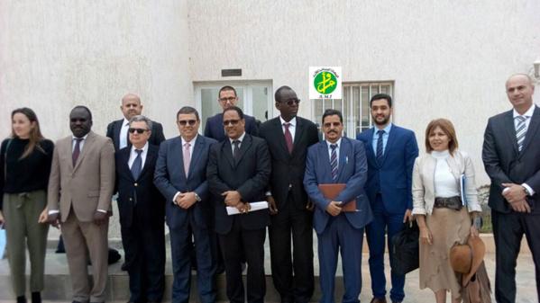La Zone Franche de Nouadhibou reçoit une délégation d'investisseurs des Îles Canaries