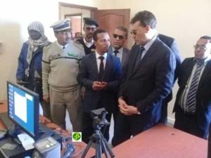 Le wali de Dakhlet-Nouadhibou s'enquiert du déroulement de l'opération d'enregistrement des pèlerins