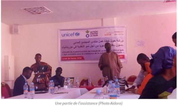 SUN-Mauritanie : la société civile mauritanienne élabore son plan d'action