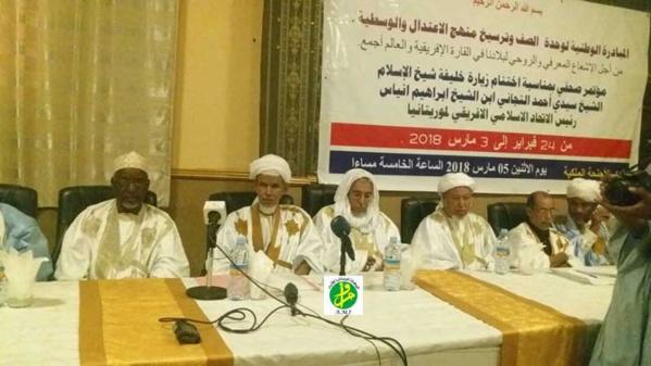 L'initiative pour l'unité de rang et l'encrage de la modération organise une conférence de presse