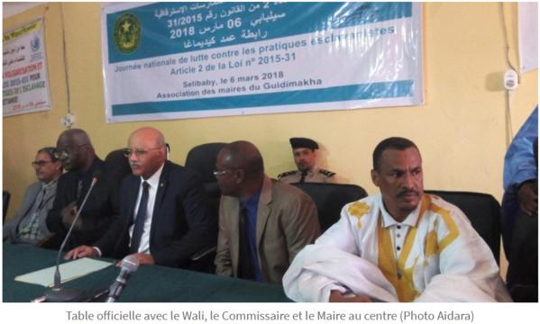 J.N.L contre l'esclavage : démonstration de force des  Komo à Sélibaby