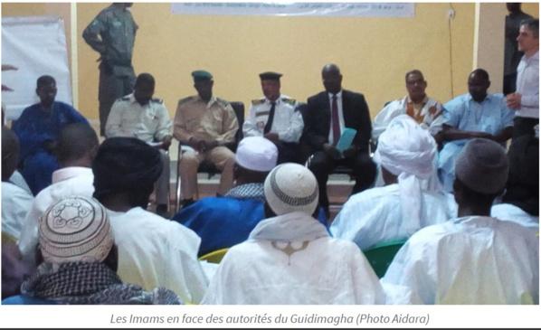 Les imams du Guidimakha à l'école de la loi et de la fatwa sur l'esclavage