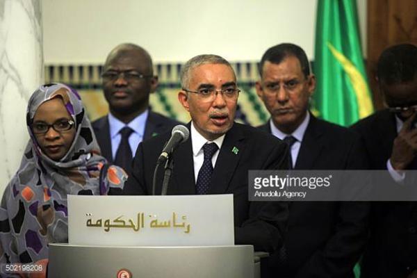 Le premier ministre se réunit avec le chef de file de l'opposition mauritanienne