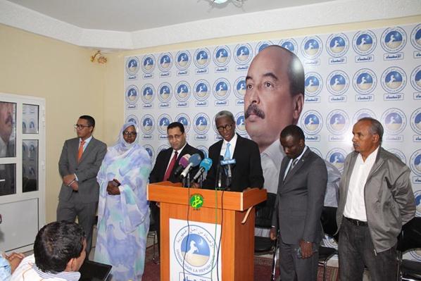 La commission chargée de la campagne d'adhésion de l'UPR appelle tous les mauritaniens à adhérer au projet du Président de la République