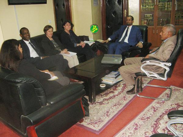 Le ministre des Affaires islamiques reçoit une mission de l'OIT