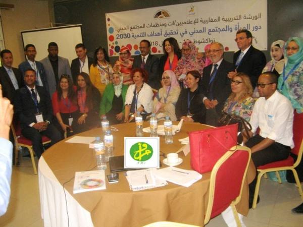 Atelier de formation pour journalistes maghrébins et acteurs de la société civile