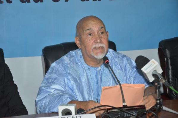 Dr Mohamed Mahmoud Ould Mah, président de l'UPSD :
