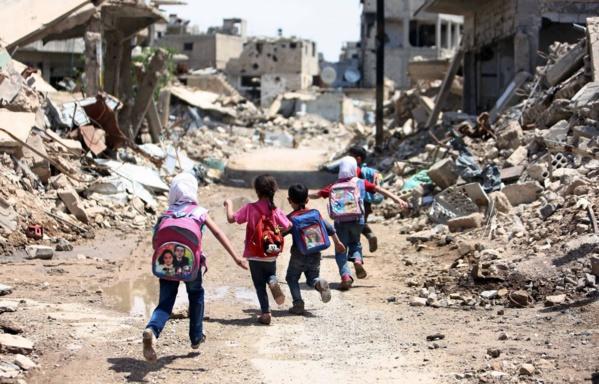 Les acteurs du conflit syrien