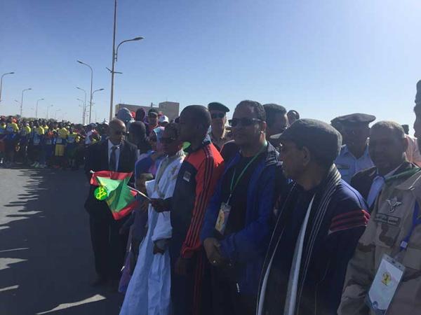Lancement de la 8ème édition du marathon international de Nouadhibou