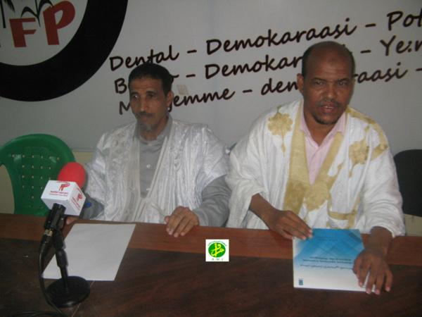 Le Forum national pour la démocratie et l'unité tient une conférence de presse