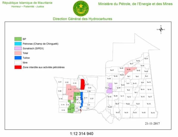 La deuxième personnalité de BP à Nouakchott